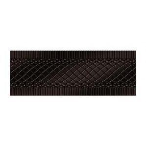 Фриз Golden Tile Дамаско 250х90 мм коричневый (Е61311)