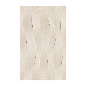 Плитка керамическая Golden Tile Summer Stone Wave для стен 250х400 мм бежевый (В41161)