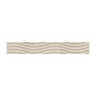 Фриз Golden Tile Summer Stone Wave 400х60 мм бежевый (В41401)