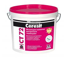 Штукатурка силикатная декоративная Ceresit CT 72 1,5 мм 25 кг