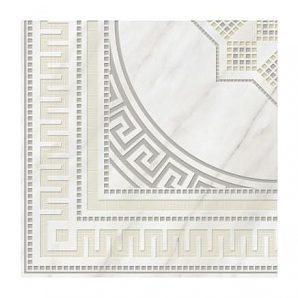 Плитка керамическая Golden Tile Каррара декоративная 400х400 мм белый (Е50830)