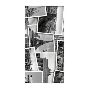 Плитка керамическая Golden Tile Absolute Collage декоративная 300х600 мм черно-белый (Г2С431)