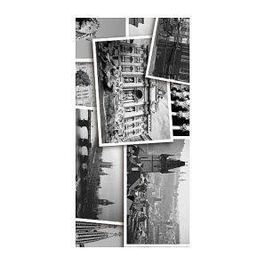 Плитка керамическая Golden Tile Absolute Collage декоративная 300х600 мм черно-белый (Г2С411)
