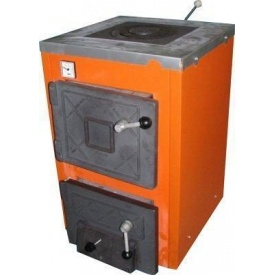 Котел твердотопливный ТермоБар АКТВ 12 (с плитой)