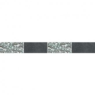 Декор Zeus Ceramica Керамогранит Casa Zeus Cemento Platinum 5х45 см Nero (mfxf98)