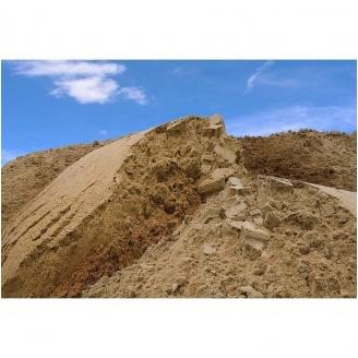 Песок строительный насыпью