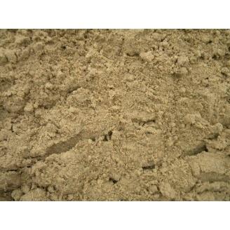 Пісок яружний насипом