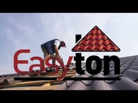 Монтаж фіброцементної черепиці Easyton