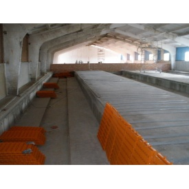 Влаштування щілинної підлоги