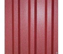 Профнастил Т-12 матовий 0,5 мм 1,17х1,12 м червоний