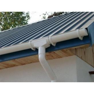 Ливнеприемник для водосточной системы 100 мм белый