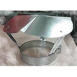 Дефлектор для дымохода 150 мм оцинкованный