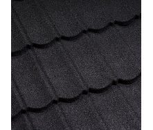 Композитная черепица Metrotile 1330x410 мм coal black