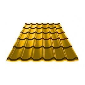 Металочерепиця MONTERREY 0,5х1195 мм жовтий (Arcelor Mittal)