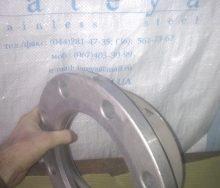Фланец алюминевый на кольце с отбортовкой