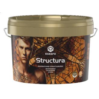 Краска структурная Eskaro Structura 3,2 л