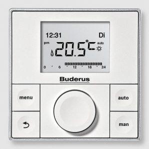 Контроллер Buderus Logamatic RC200 92х92х25 мм