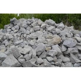 Бутовый камень 100х400 мм серый