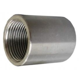Муфта стальная AISI 304 (08Х18Н10) Ду25