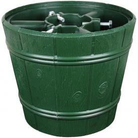 Стійка для ялинки Відро зелена