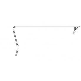 Накладка-фаскообразователь ПВХ 2,7 м