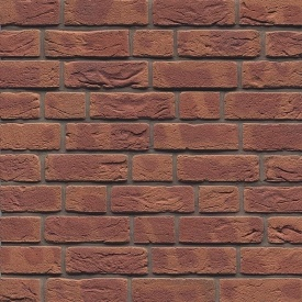 Плитка ручного формування Muhr Klinker EM-WDF 2 Rot-braun bunt-geflammt fein besandet 210х22х65 мм