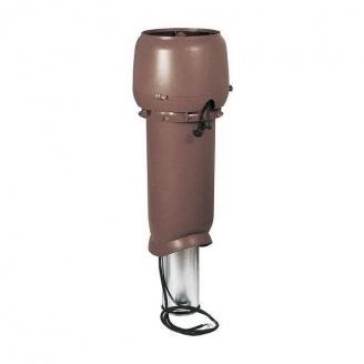 Вентилятор VILPE Eco 190 P 125х700 мм (коричневый)