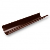 Желоб Galeco STAL135 135 мм 3 м (RS135-RY300-G) (RAL8017/шоколадный)