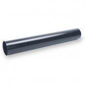 Водостічна труба Galeco STAL135 90 мм 3 м (SS090-RU300-G) (RAL7015/графіт RR23)