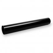Водостічна труба Galeco STAL135 90 мм 3 м (SS090-RU300-G) (RAL9005/чорний RR33)