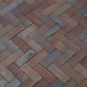 Клинкерный тротуарный кирпич Hagemeister Liverpool Special ригель 208x78x50 мм