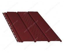 Софіт BRYZA перфорований 4000х305 мм червоний / RAL 3011