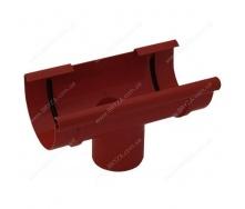 Воронка желоба Bryza 125 125х94х280х90 мм красная RAL 3011