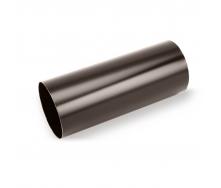 Водосточная труба Galeco STAL135 100 мм 3 м (SS100-RU300-G) (RAL8019/темно-коричневый RR32)