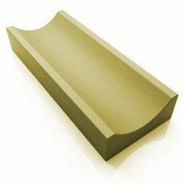 Отлив Золотой Мандарин 500х200х60 мм горчичный