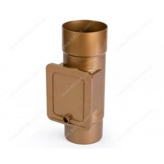 Люк для чистки Bryza 125 90,2х63,2 мм (медь)