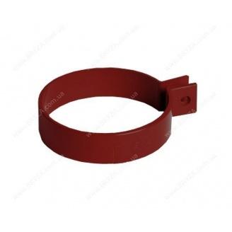 Хомут трубы Bryza 125 90,2х25 мм красный RAL 3011