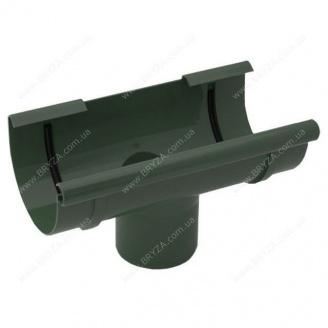 Воронка желоба Bryza 125 125х94х280х90 мм (зеленый / RAL 6020)