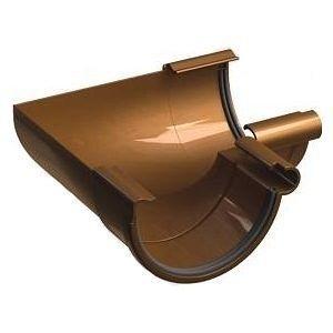 Внутренний угол 135° Galeco PVC130 130 мм (RE130-LW135-Х) (RAL8004/медно-коричневый)