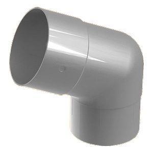 Колено 45° Galeco SP100 100 мм (SP100-KO045-P) (RAL9010/белоснежный)
