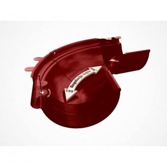 Внешний регулируемый угол 90-150° Galeco PVC130 130 мм (RE130-LZREG-P) (RAL3004/пурпурно‐красный)