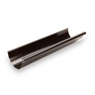 Желоб Galeco STAL135 135 мм 3 м (RS135-RY300-G) (RAL8019/темно-коричневый RR32)