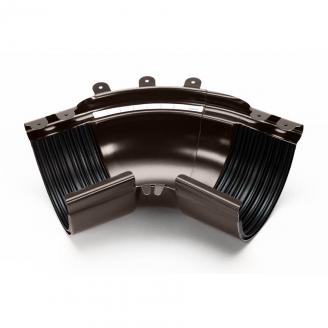Угол внешний регулируемый 100-165° Galeco STAL135 135 мм (RS135-LZREG-G) (RAL8019/темно-коричневый RR32)