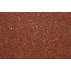 Тротуарная плитка Золотой Мандарин Квадрат большой на сером цементе 200х200х60 мм (красный)