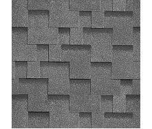 Битумная черепица Shinglas Ультра Джайв 3,3х317х1000 мм серый