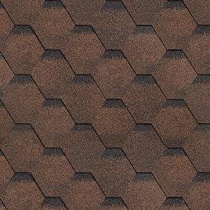 Битумная черепица Shinglas Финская 2,9х317х1000 мм коричневый