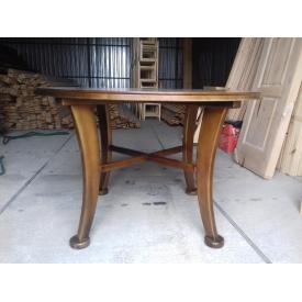 Стол круглый сосна 80х125 см