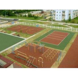 Строительство спортивной площадки