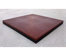 Гумова плитка для кроссфита 500x500x30 мм