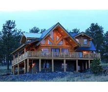 Строительство дачного дома из дерева
